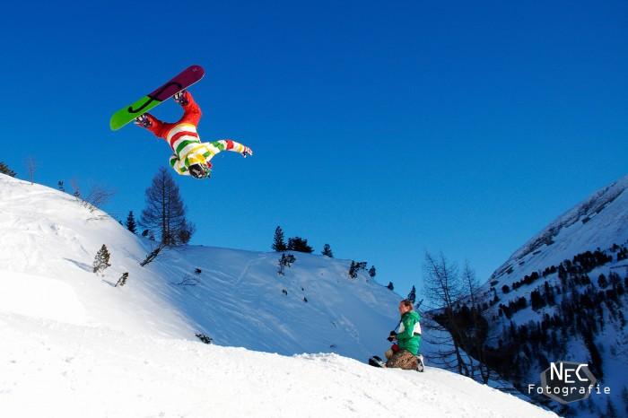 Snowboard Backflip Obertauern