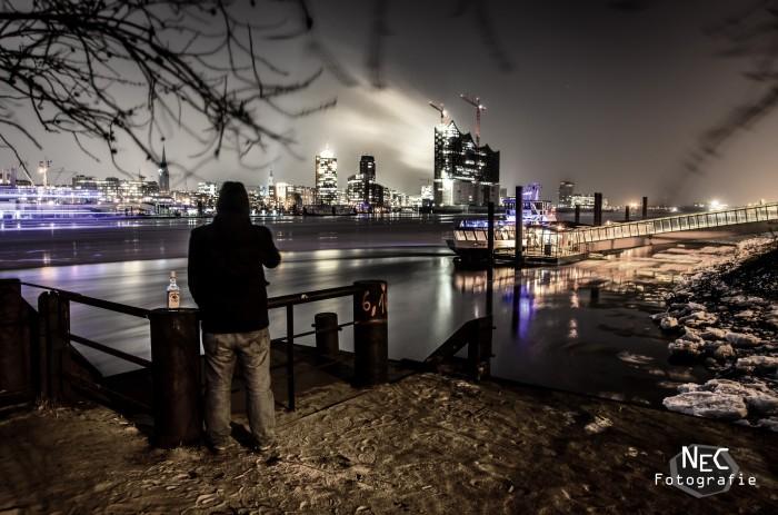 Hamburger Hafen Lost Place, Elbphilharmonie, Eis