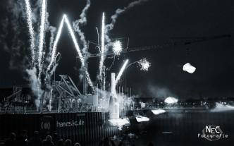 Die Rache des Champagners, Hamburg Dockland