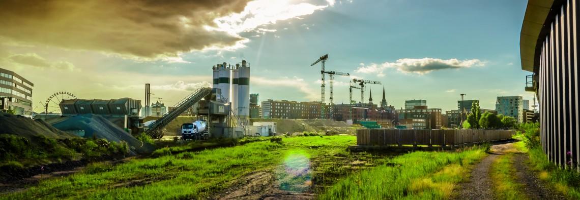 Hamburg Baustelle