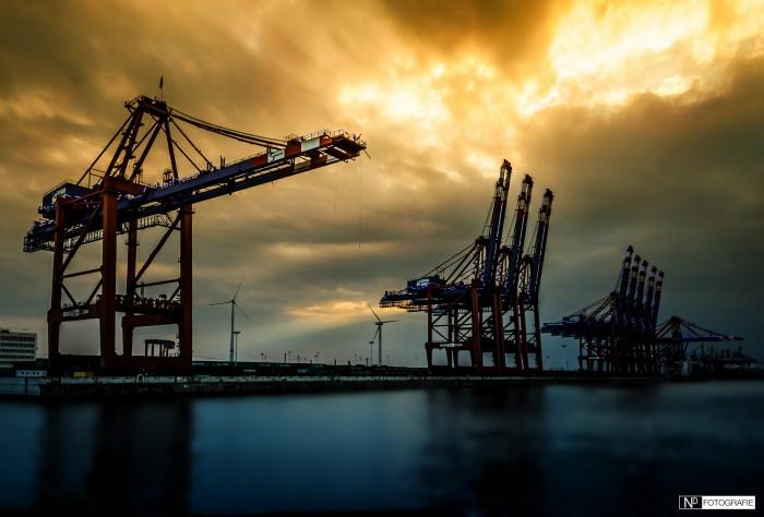 Hamburg Hafen Waltershof