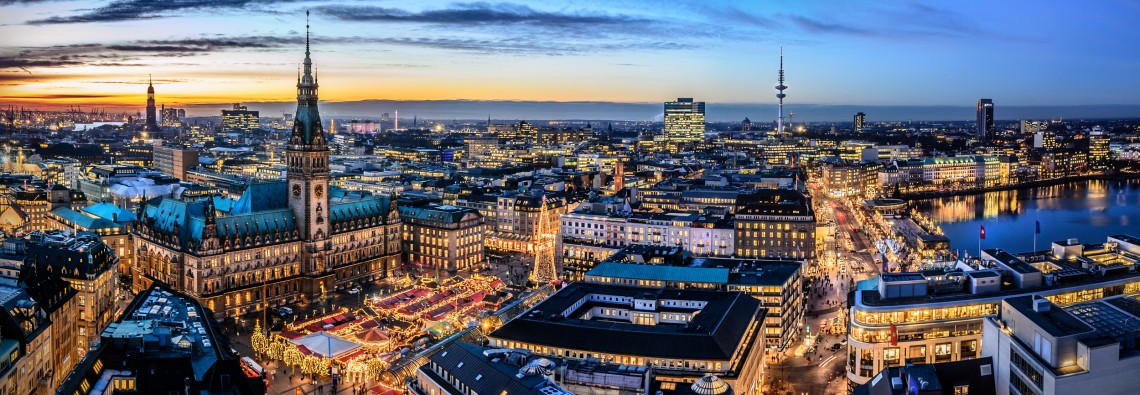 Hamburg Skyline Panorama