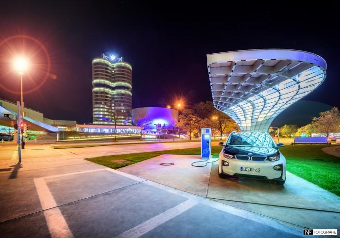BMW i3 Ladestation