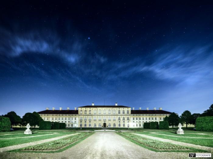 Schloss Schleissheim bei Nacht